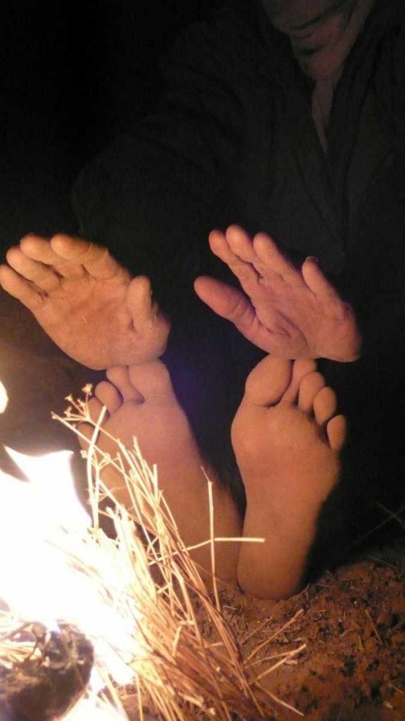 Algérie - Atakor - La nuit, la chaleur tombe vite…