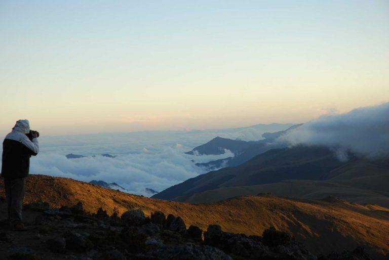 Equateur - Cotopaxi - Aube
