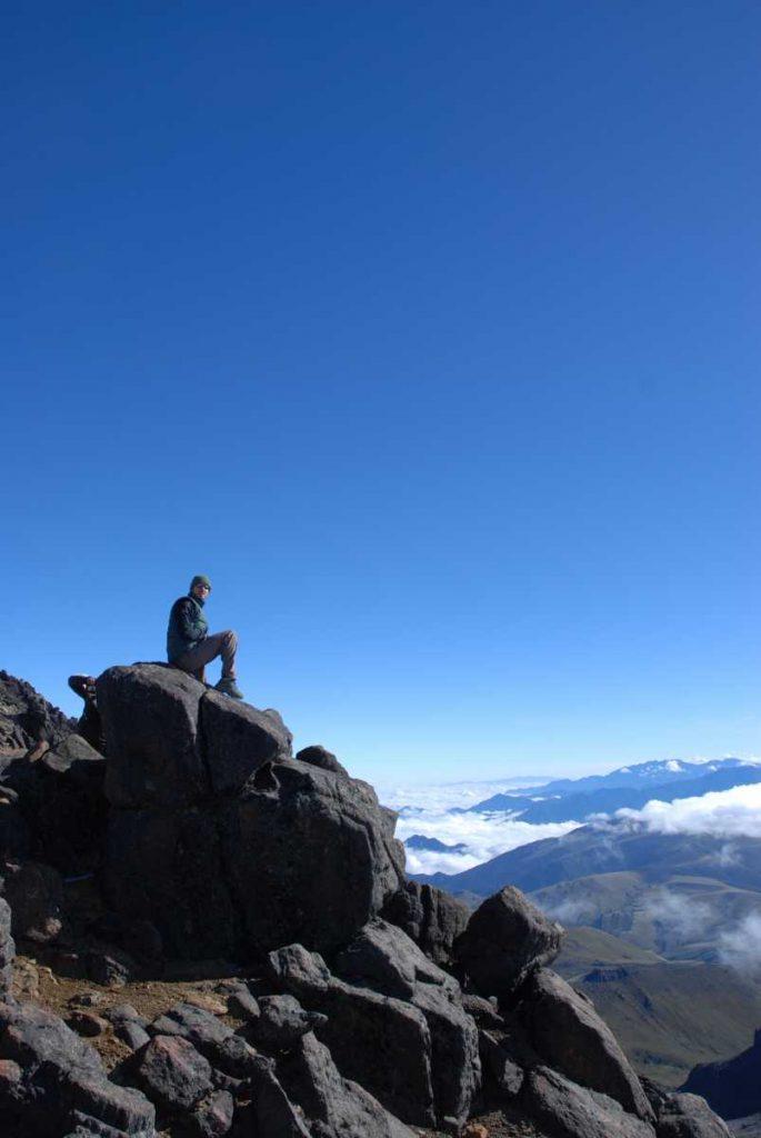 Equateur - Imbabura - Sommet à 4560 mètres