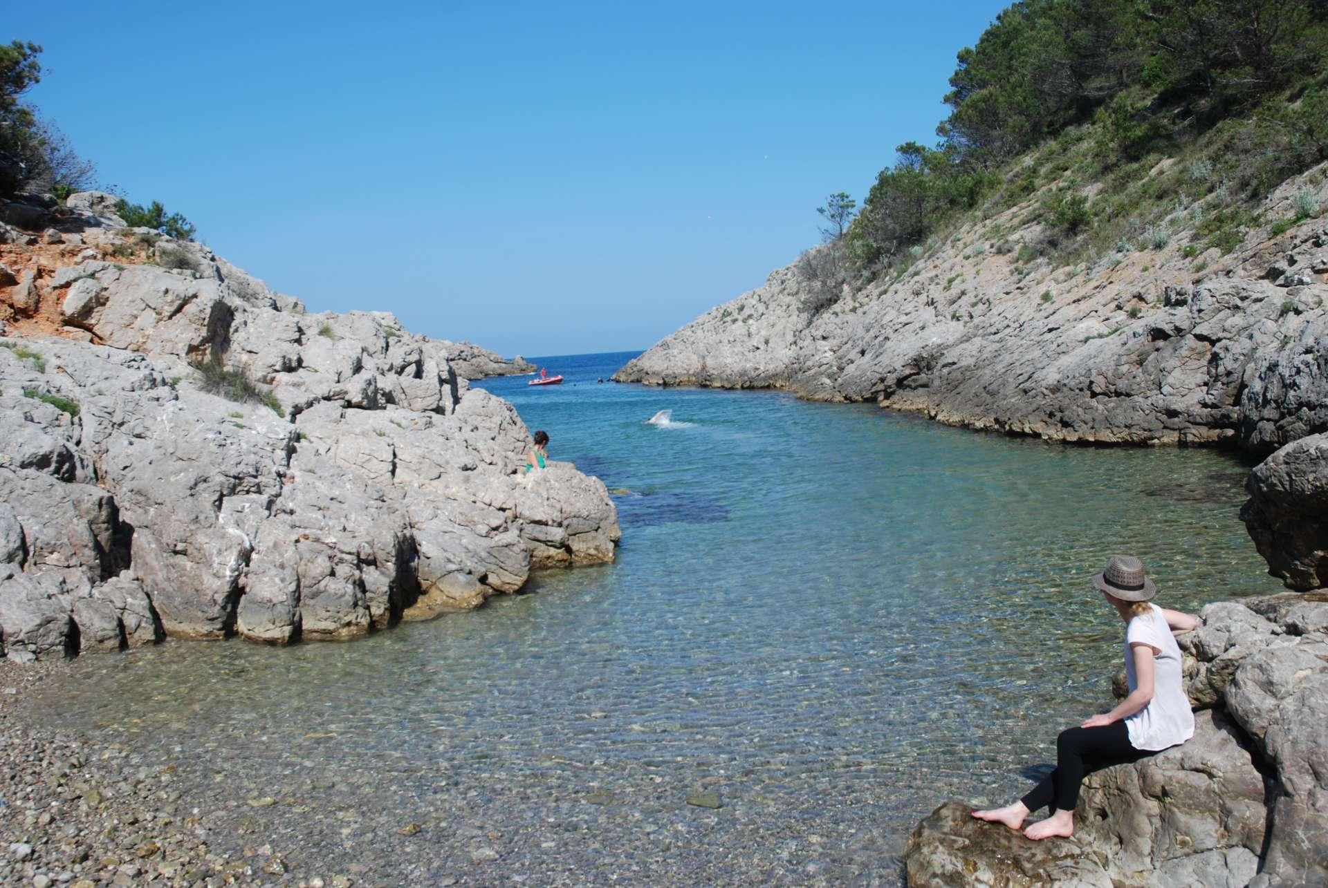 Espagne - Costa Brava - Crique catalane