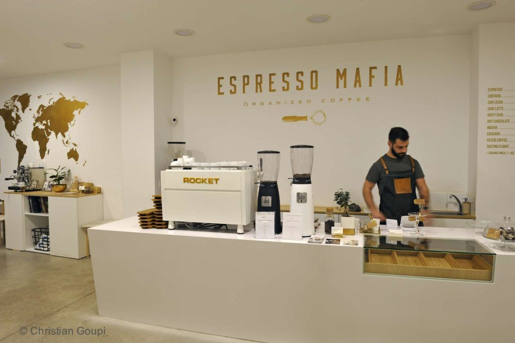 Espagne - Gerone - Cafés du monde chez Espresso Mafia