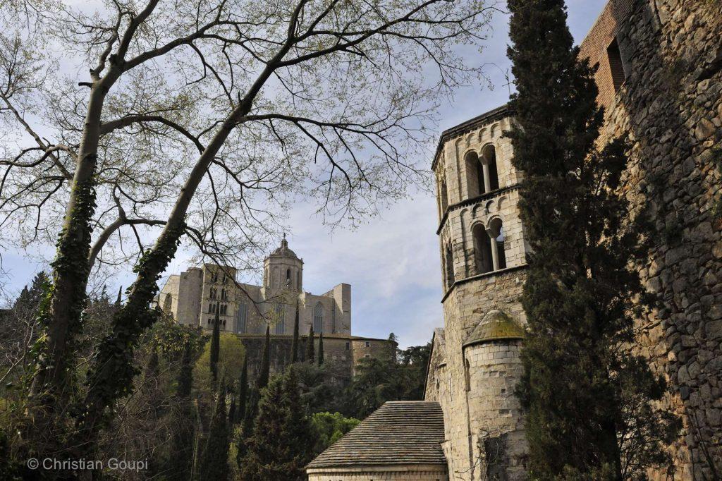 Espagne - Gerone - Le mystérieux cloître de Sant Pere de Gallicants