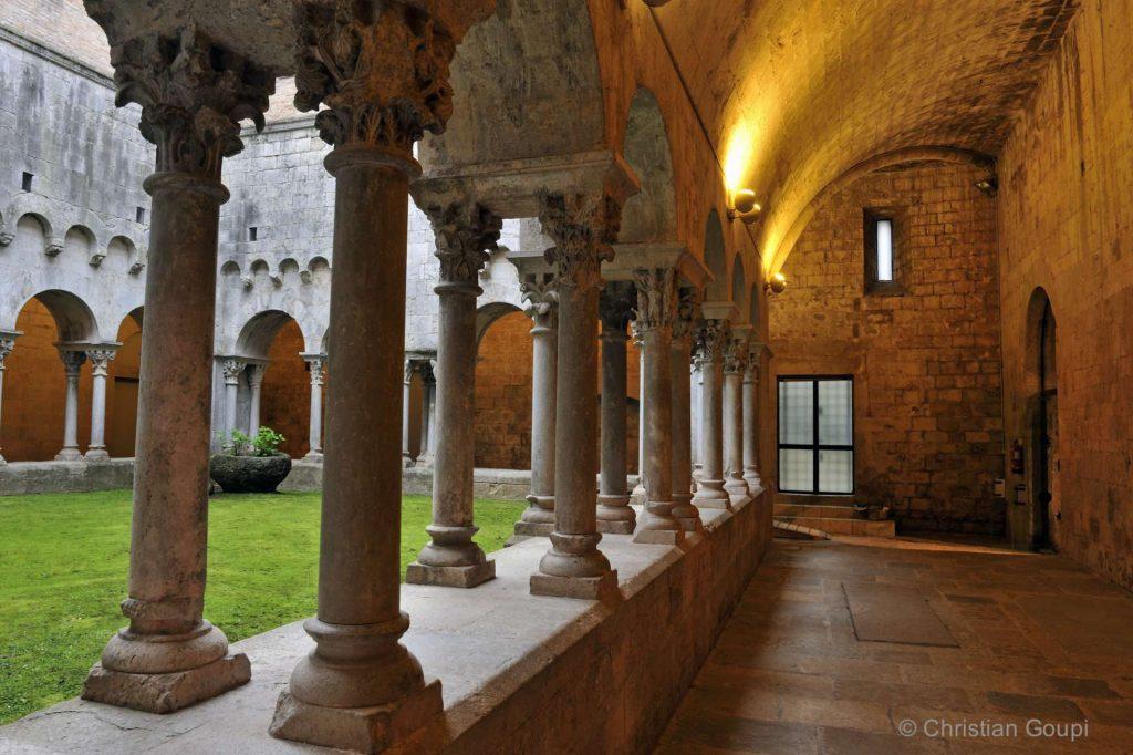Espagne - Gerone - Le mystérieux cloître de Sant Pere de Gallicants - 2