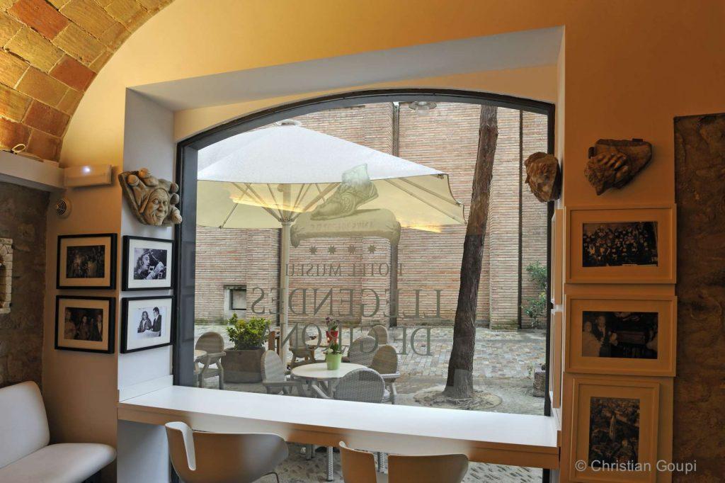 Espagne - Gerone - Havre antique à l'hôtel Llegendes