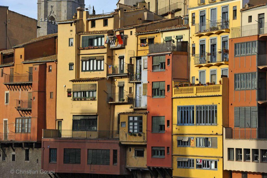 Espagne - Gerone - Immeubles