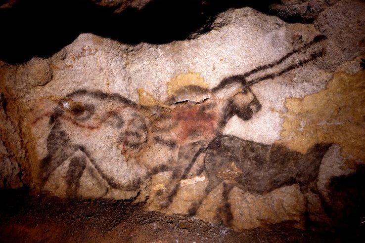 France - Grotte de Lascaux - La licorne