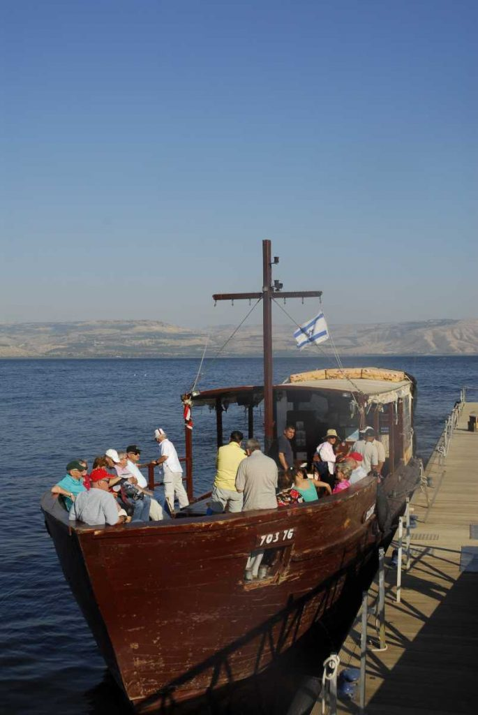 Israel - Galilée - Balade sur le lac Tibèriade.