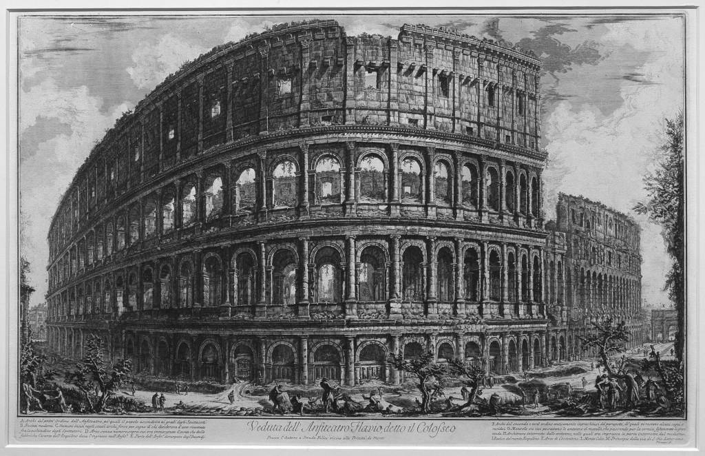 Italie - Renaissance - Colisée Empire Romain
