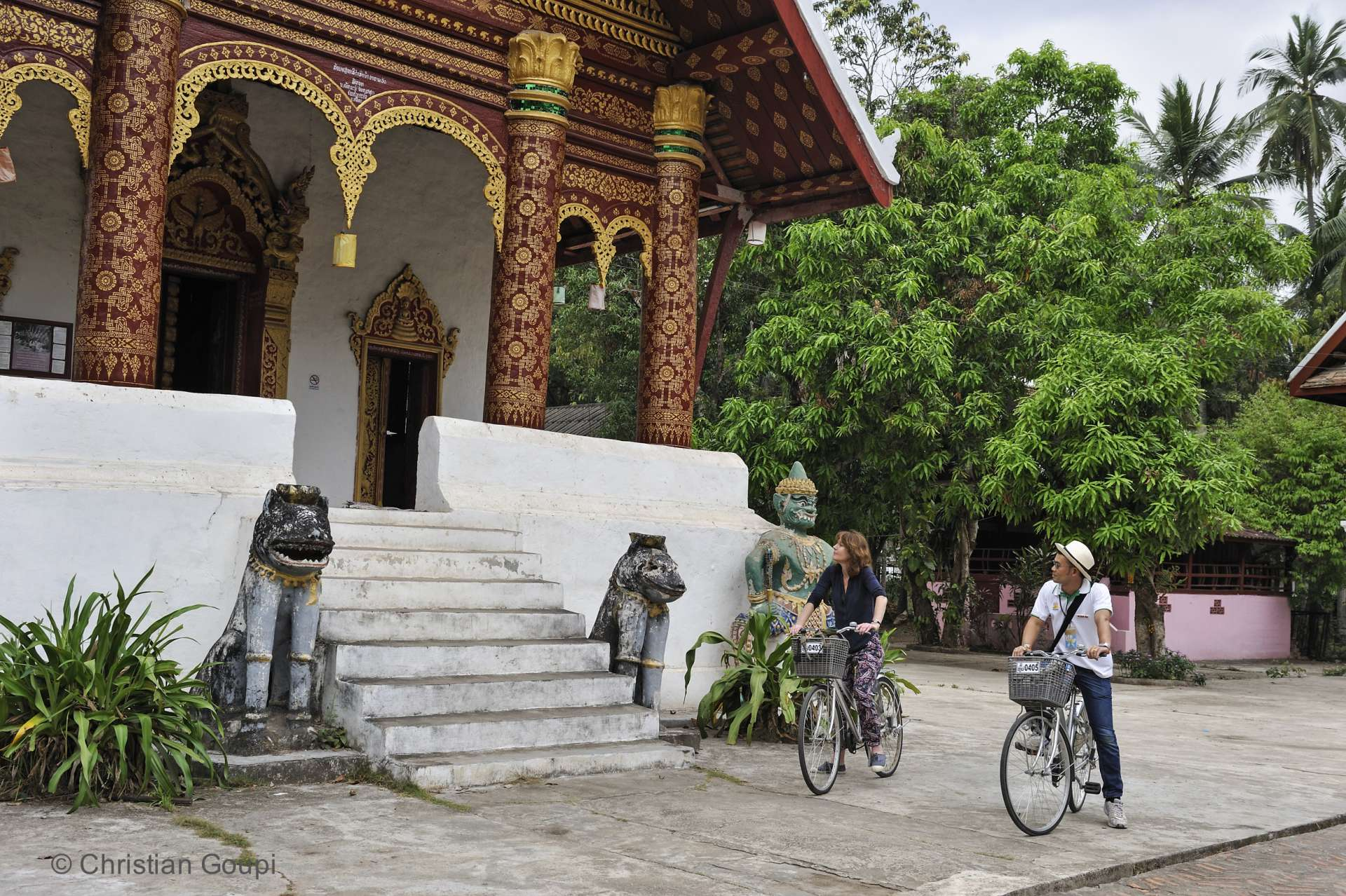 Laos- La meilleure façon d'explorer Luang Prabang : se balader à vélo.