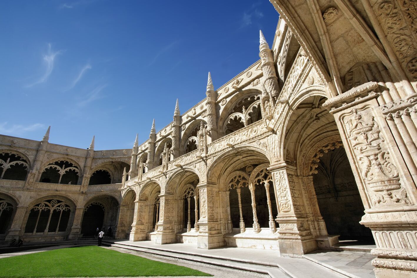 Le cloitre du monastère des Hiéronymites