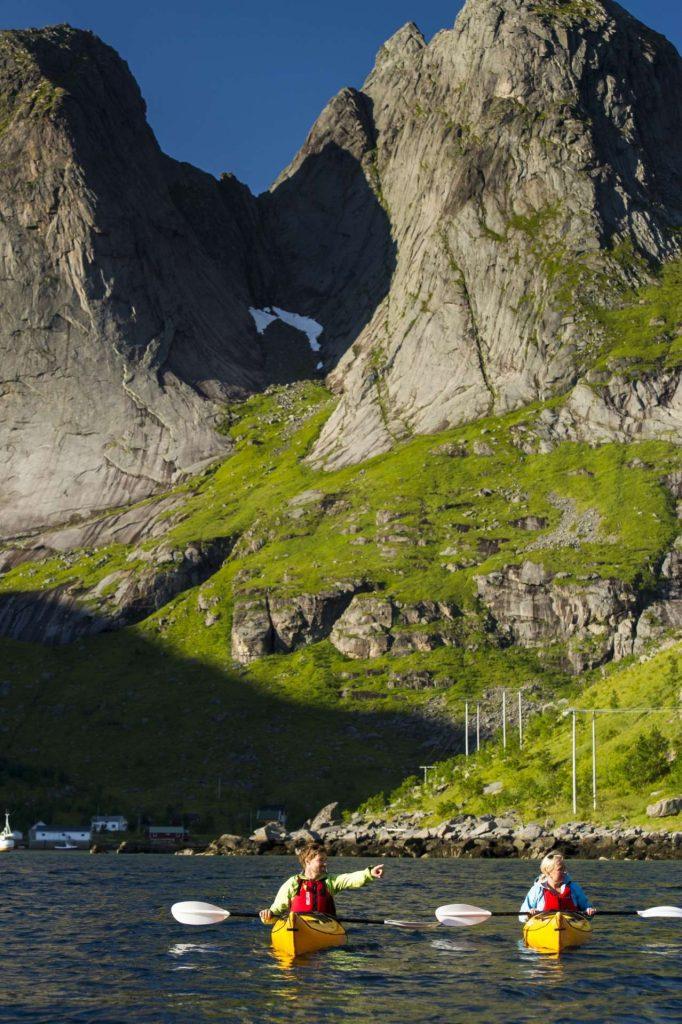Norvège - Iles Lofoten - Kayak Fjord Reine