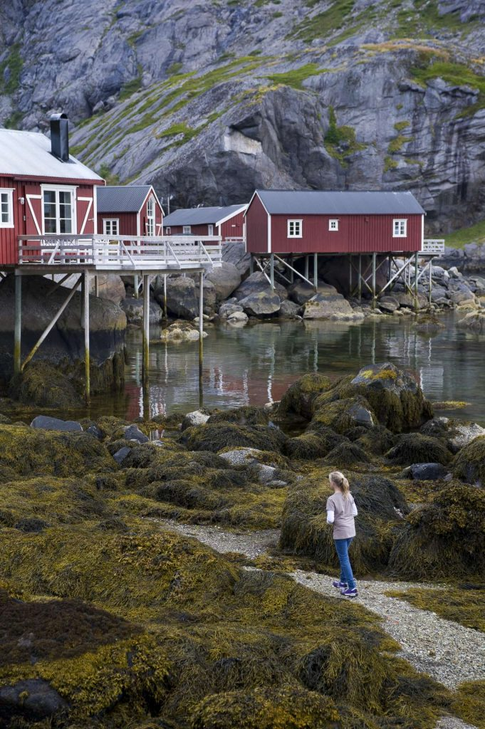 Norvège - Iles Lofoten - Rorbuer - Maison sur pilotis