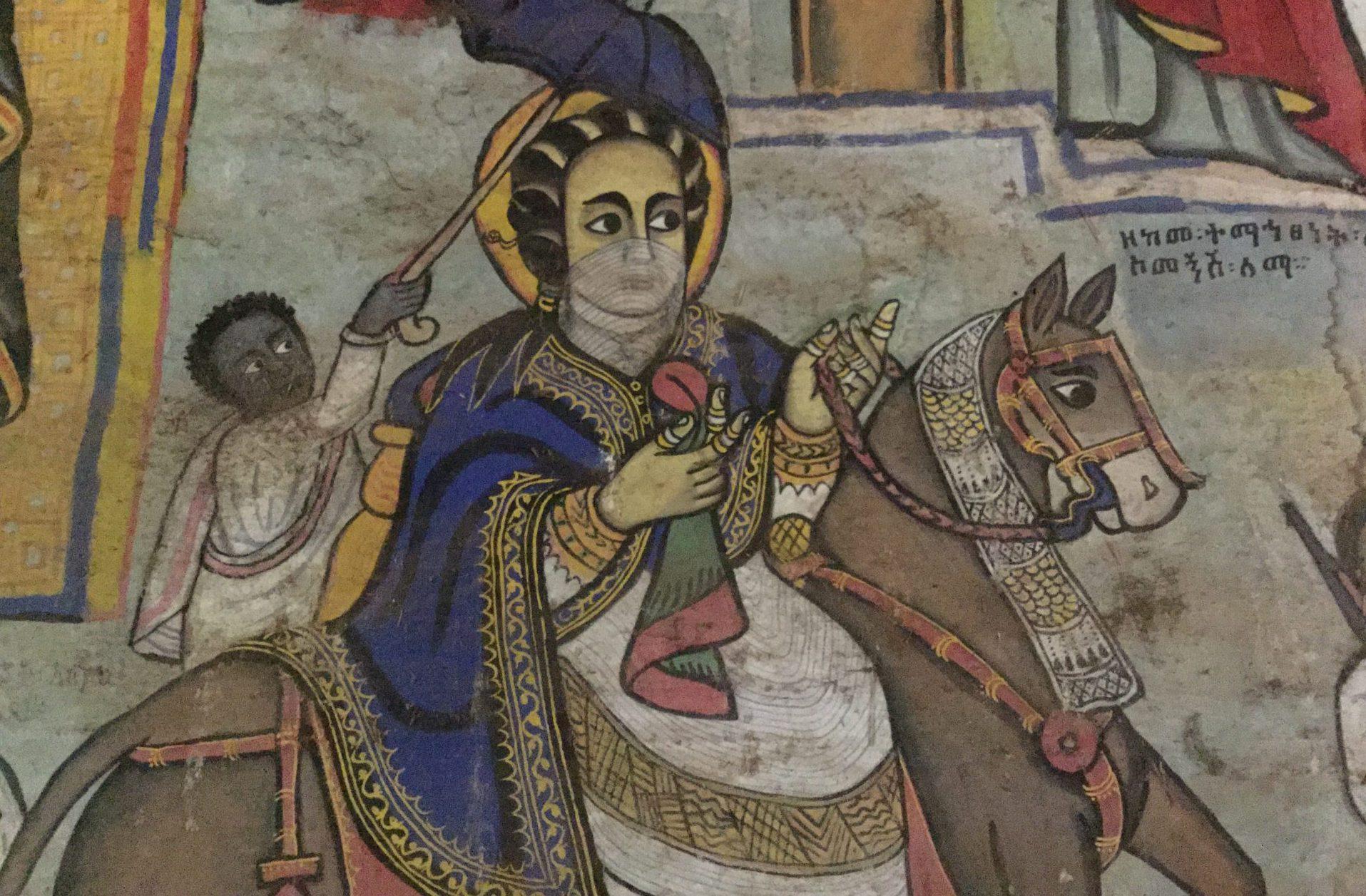 Yémen - Dans la tradition éthiopienne, la reine de Saba se convertit au Dieu d'Israël et eut de Salomon un fils, Ménélik Ier, fondateur de la dynastie des Négus.