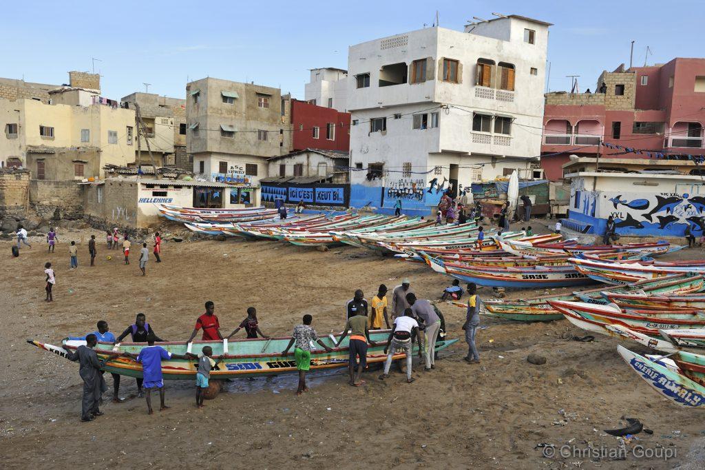 Sénégal - Dakar - Maison d'hôtes à Abaka - Village de pêcheurs