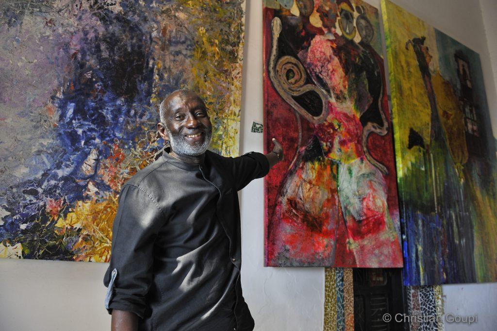 Sénégal - Dakar - Visite d'atelier chez Abdoulaye Diallo