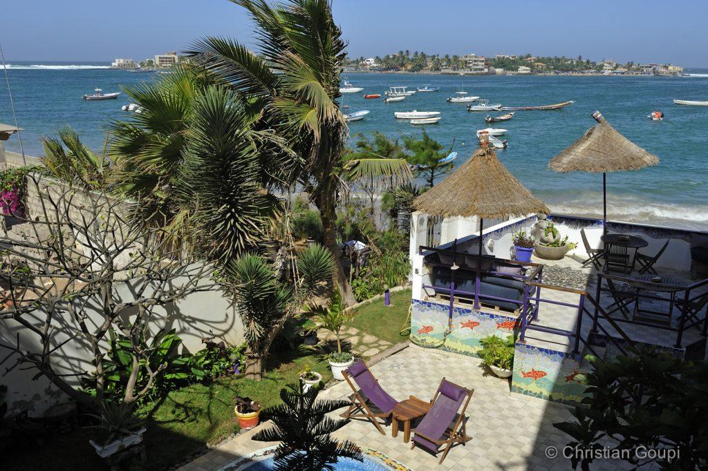 Sénégal - Dakar - Chambre vue mer à la Maison Abaka