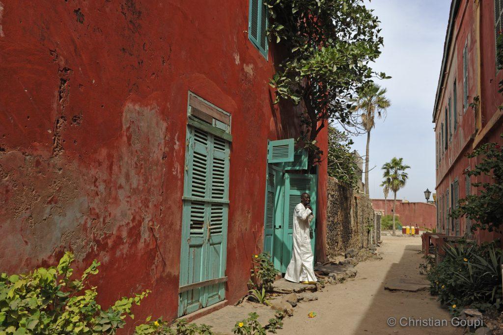 Sénégal - Dakar - Souffle de l'histoire chez Le Chevalier de Boufflers - Facade