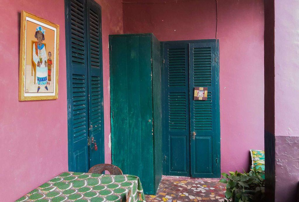 Sénégal - Dakar - Tourisme solidaire à la maison ASAO - Entrée