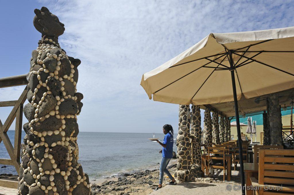 Sénégal - Dakar - Coquillages et crustacés au N'Gor