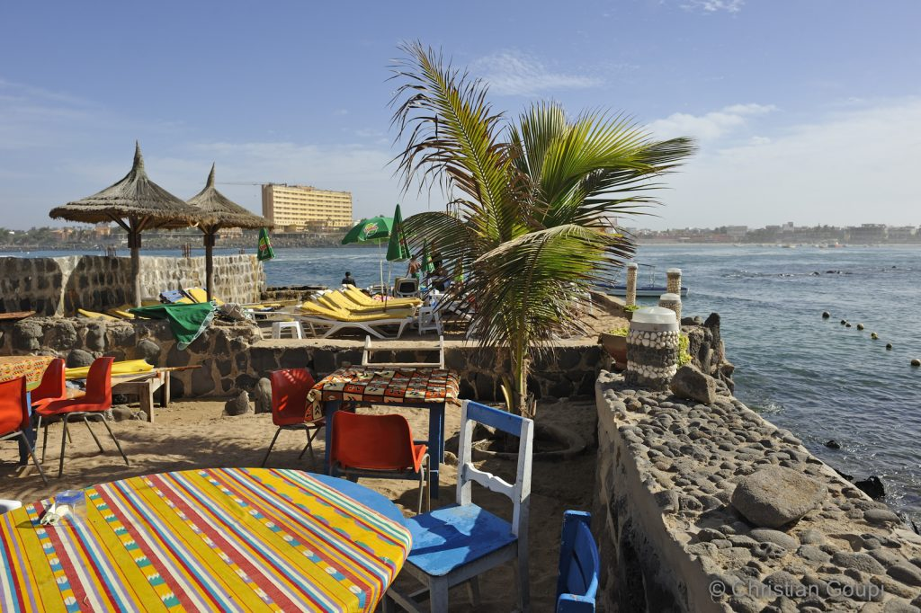 Sénégal - Dakar - Restaurant Barbecue de poisson chez Seck