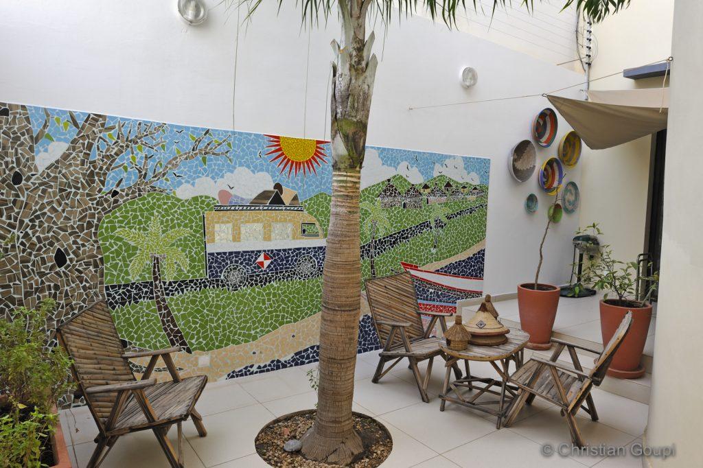 Sénégal - Dakar - Escale arty à la Villa 126 - Maison d'hôtes