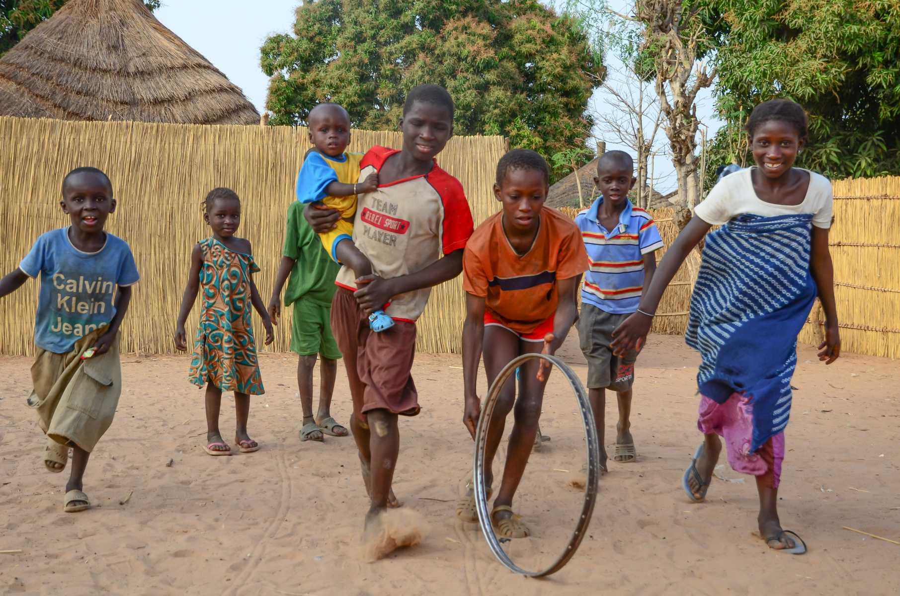 Sénégal - Sine-Saloum - Sandicoly - Enfants