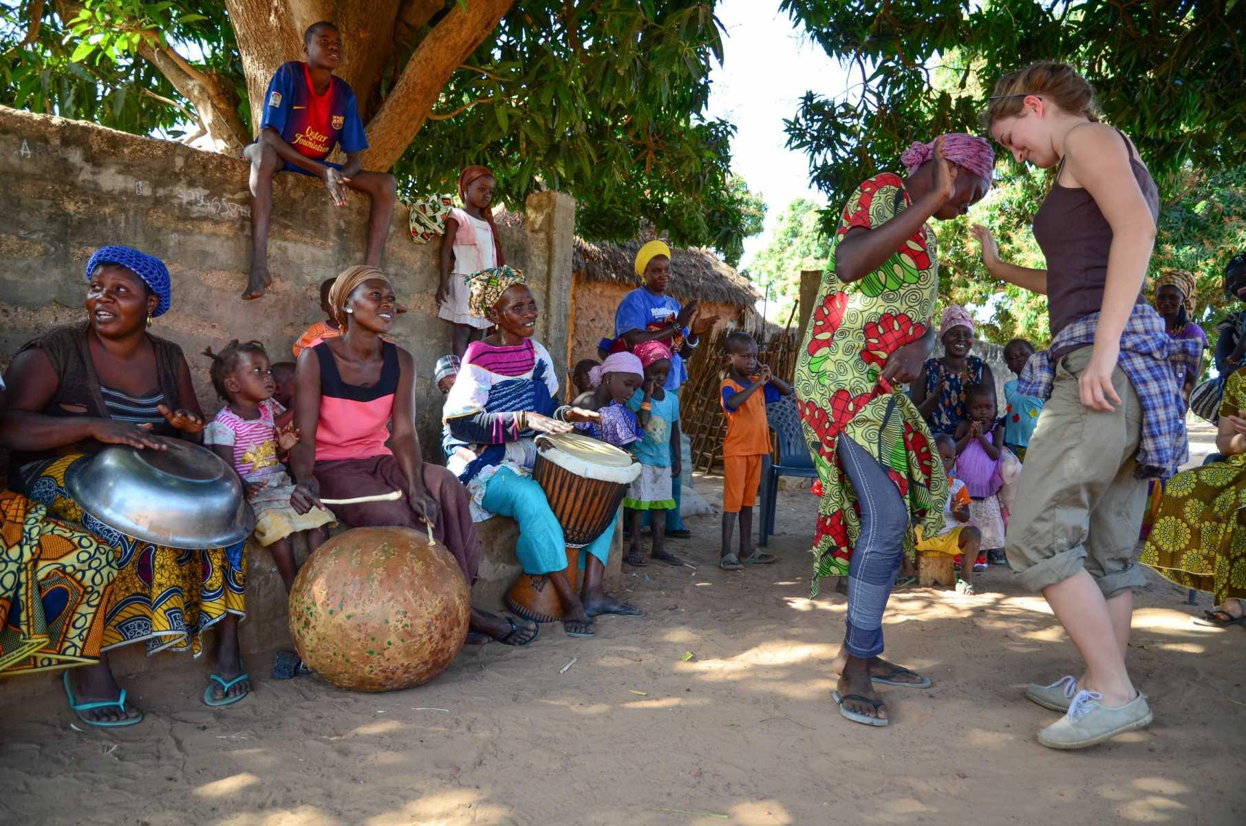 Sénégal - Sine-Saloum - Village danse et musique