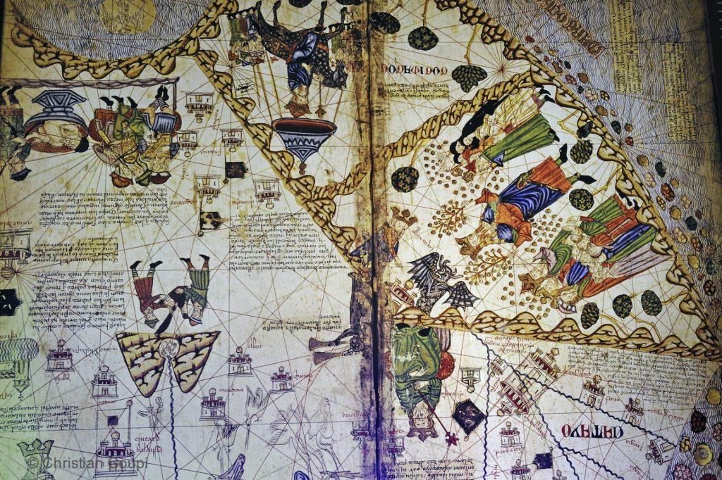Espagne - Gerone - Carte musée juif Gérone