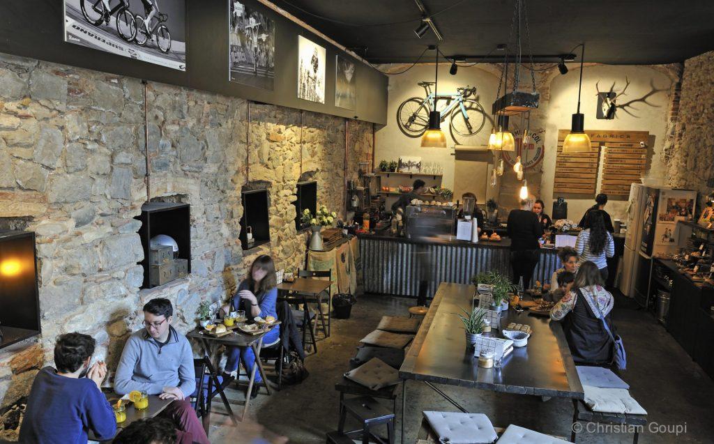 Espagne - Gerone - Coffee-shop tendance à La Fabrica