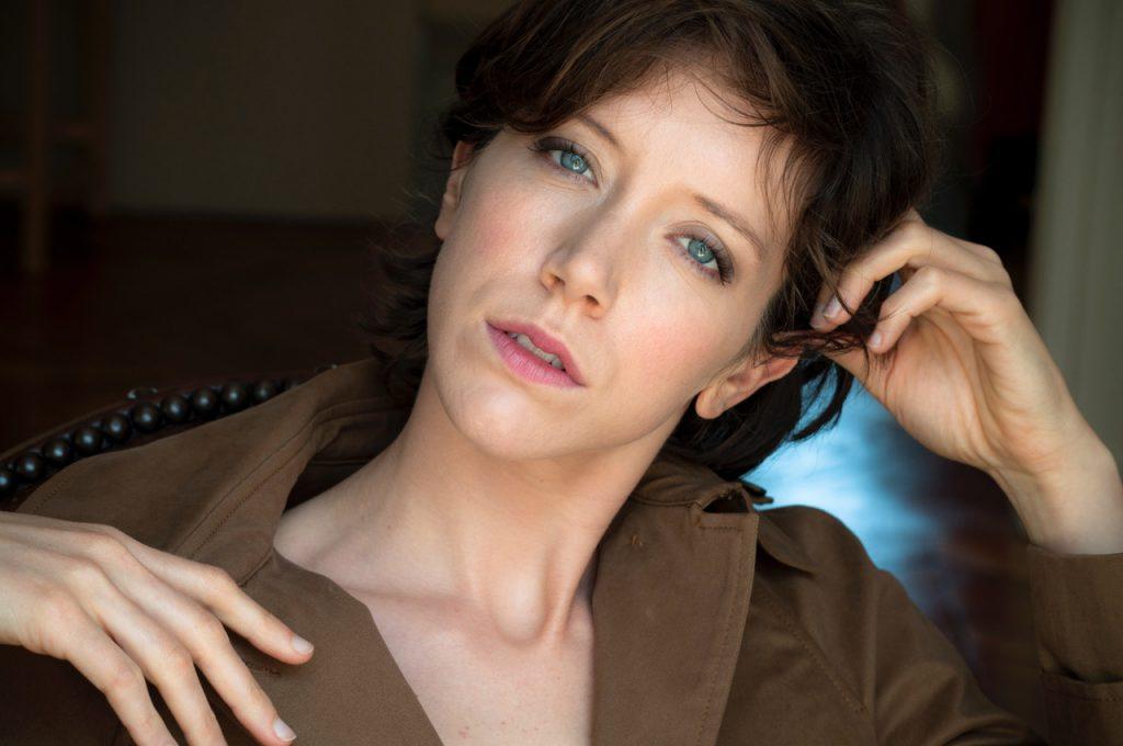 Sara Giraudeau portrait interview
