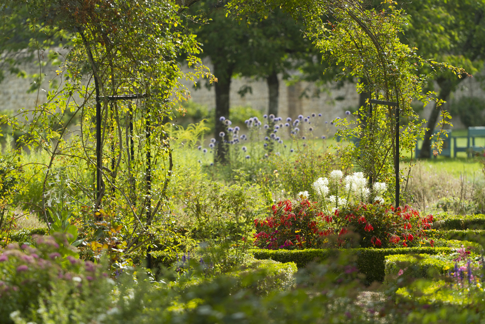 Jardins de la Maison George Sand à Nohant-Vic, Berry