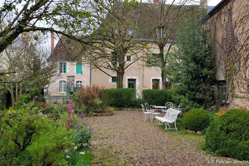 Maison d'hôtes La Croix Verte à Saint-Chartier, Berry