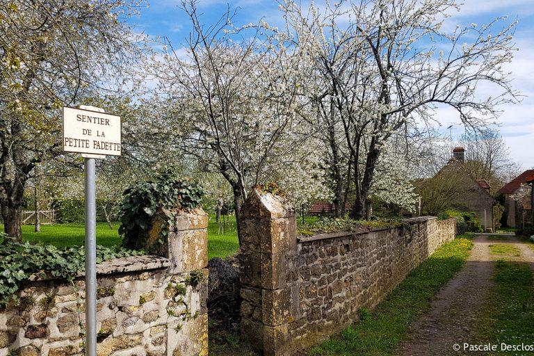 Sentier La Petite Fadette (nom d'un roman de George Sand) à Vic-Nohant, Berry