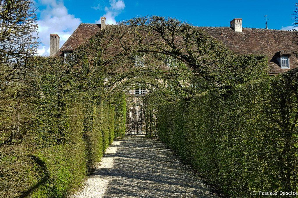 Jardins du Prieuré d'Orsans, Maisonnais, Berry