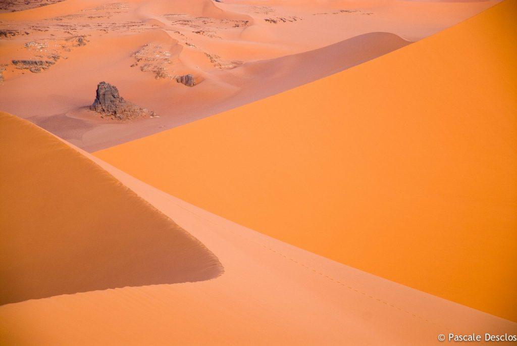 Dunes de Moul N' Aga dans le parc national du Tassili N'Ajjer, sud Algérie