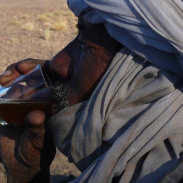Algérie - Atakor - Dégustation du thé