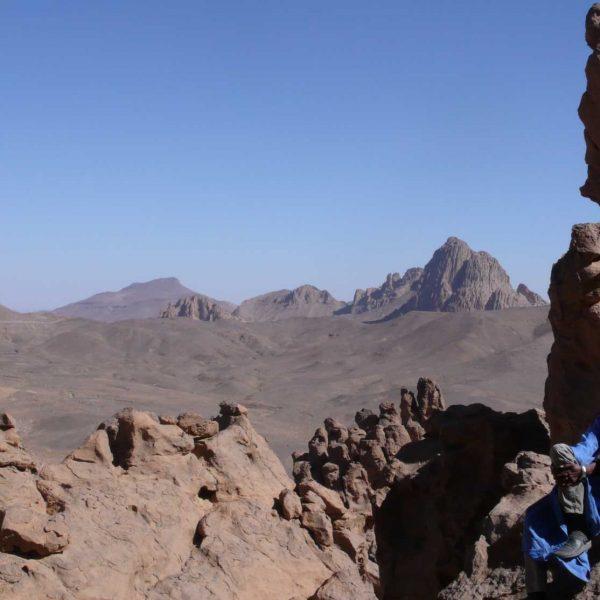 Algérie - Atakor - Paysage chaotique et volcanique