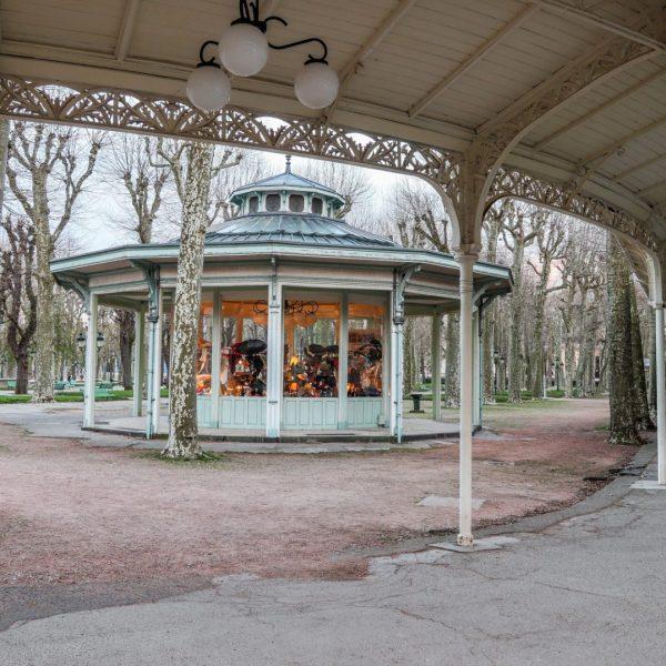 Kiosque XIXe siècle à Vichy
