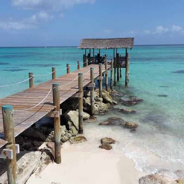 Bahamas - Le ponton de Love Beach à New Providence