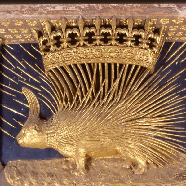 Le porc-épic était l'emblème de Louis XII.