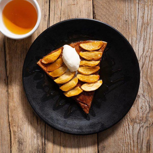 Crêpe pomme/caramel de beurre salé