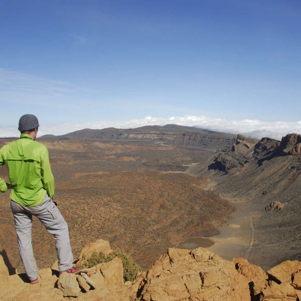 Canaries - La caldeira du Teide.