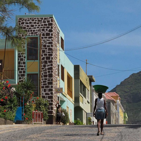 Cap-Vert - Le village de Ponta do Sol, au nord de Sao Antao