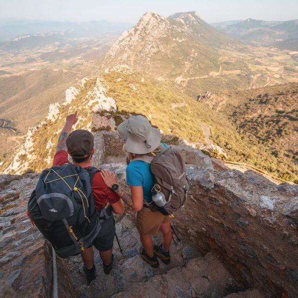 Aguilar, Quéribus, Peyrepertuse… Partez à l'assaut des forteresses en suivant le Sentier cathare !