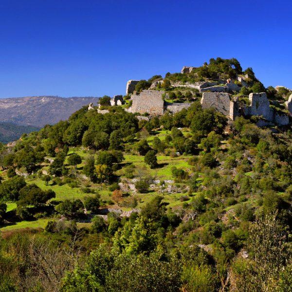 Le château de Termes, l'un des plus puissants du Languedoc, et dont les seigneurs étaient favorables au catharisme donna lieu à l'un des plus longs et des plus épiques sièges de la croisade.