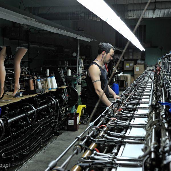 La manufacture traditionnelle de bas Arsoie à Sumène