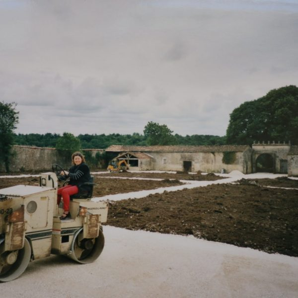 Le chantier du Logis à St-Bris-des-Bois