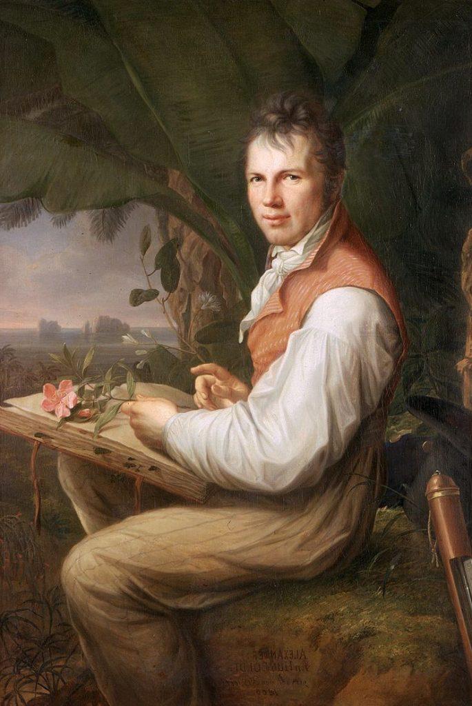 Equateur - Alexandre de Humboldt, lors de son expédition en Amérique du Sud