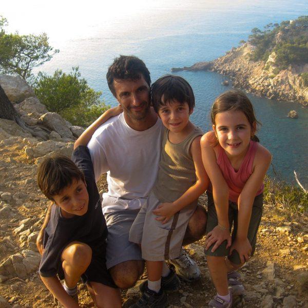 Eric Balian - Directeur Général de Terre d'aventure - Famille - Calanques 2007