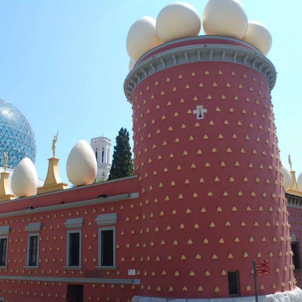 Espagne - Costa Brava - Le Théâtre-musée de Dali à Figueres